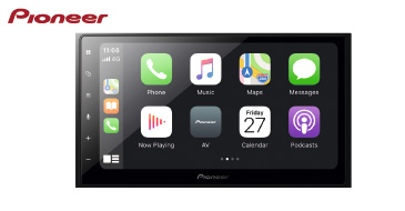 PIONEER SPH-DA250DAB: 2-DIN Multimediasystem mit DAB+, Apple CarPlay & Android Auto